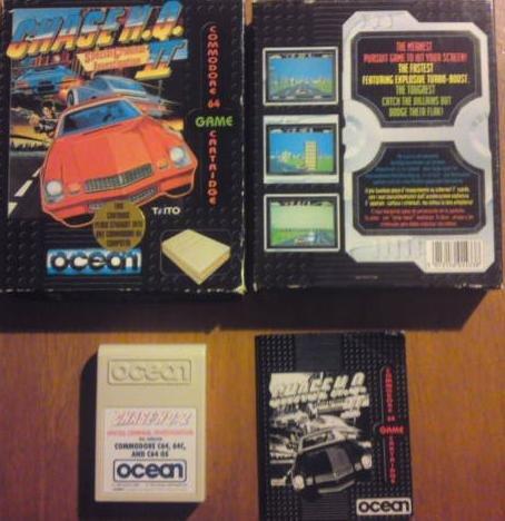 Chase HQ II: Special Criminal Investigation - Commodore 64