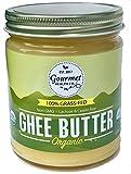 Gourmet Health Organic Grass-Fed Ghee Butter, non-GMO, Lactose free