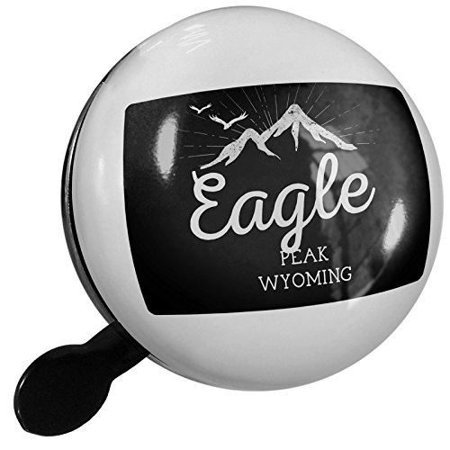 Small Bike Bell Mountains chalkboard Eagle Peak - Wyoming - NEONBLOND (Wyoming Eagle)