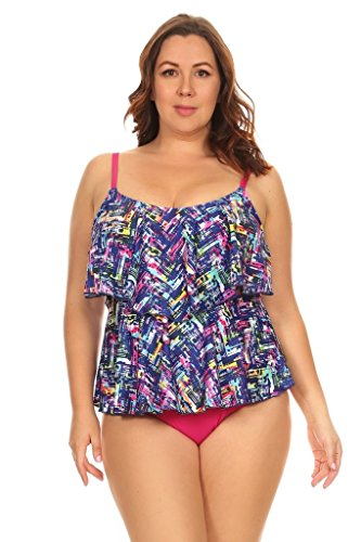 Jessica Simpson Womens Patched Up Ditsy Floral Cut-Out Ruffle Off The Shoulder One Piece Swimsuit