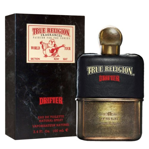 True Religion Drifter Eau de Toilette 3.4 Oz for (Ginger Juniper Eau De Toilette)