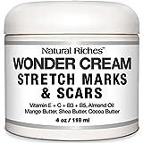 Crema Para Eliminar Estrias Y Cicatrices Organica Y Natural - Reduce Apariencia De Cicatrices Y Estrias