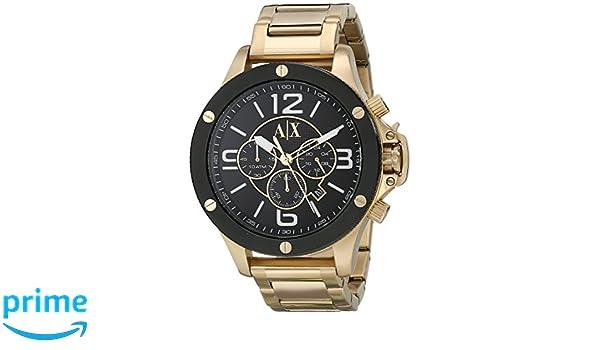 03f67efb18bf Armani Exchange AX1511 Reloj de Hombres  Armani Exchange  Amazon.es  Relojes