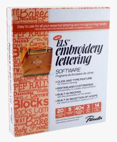 - Brother ELS Embroidery Lettering Monogramming Software