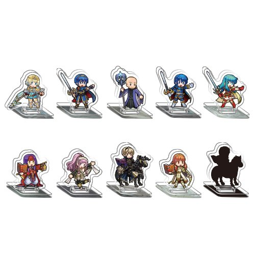 Fire Emblem Heroes - Mini Acrylic Figure Collection Vol.2 10Pack -