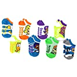 Bubble Guppies Kids 8pk Ankle Socks (4-6 Toddler (Shoe: 7-10))