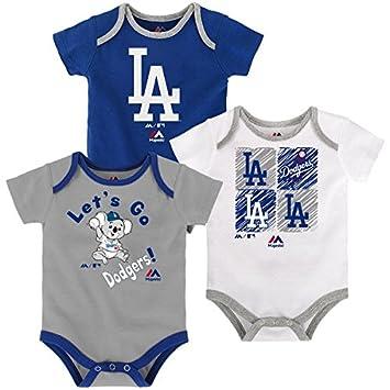 Amazon.com: Los Angeles Dodgers bebé/infantil Go Team 3 ...