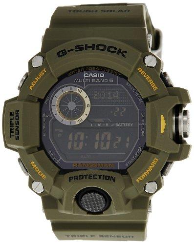 Casio Men G SHOCK RANGEMAN TRIPLE SENSOR GW9400 GW-9400-3D