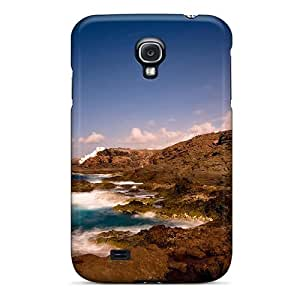 Galaxy Case - Tpu Case Protective For Galaxy S4- Great Shoreline Lighthouse