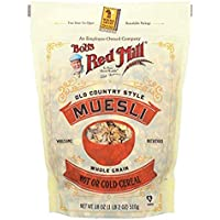 Bob's Red Mill Resealable Old Country Style Muesli Cereal, 18 OZ (Pack - 4)
