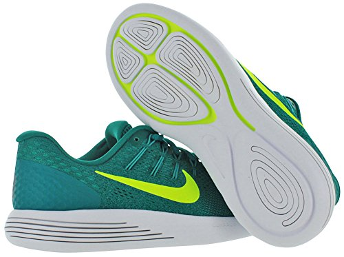 Nike Mens Lunarglide 8 Hardloopschoenen Rio Teal / Volt-clear Jade-midnight Turquoise
