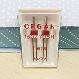 organ twin needle - YICBOR Household Sewing Machine Twin Needle for Organ,Twin Needle 80/2.5 mm