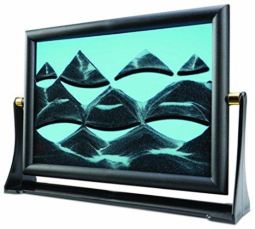 Ideas en la vida Falling arena movimiento Art–de sobremesa cambio Sandscape Moving imagen–relajante de mesa...