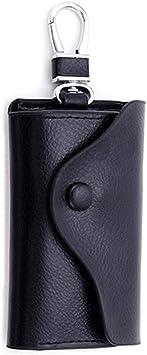 Estuches de Llave- Capacidad:una Llave de Moto o Coche Llavero de Piel con Cremallera Organizador de Llaves Portallaves de Piel: Amazon.es: Equipaje