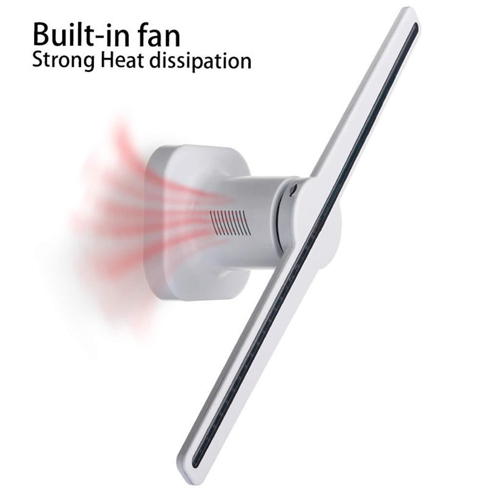 ZDQ Hologramm Projektor Fans Auge 3D Projektor Ferngesteuerte LED ...