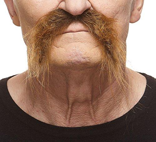 [Realistic Fu Manchu brown mustache] (Fu Manchu Costumes)