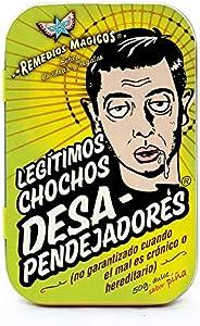 Legítimos Chochos Desapendejadores - Pastillero Remedios Mágicos de Hojalata con Dulce del Poder Buena Vibra S
