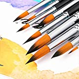 Watercolor Brushes - Artist Round Paint Brushes