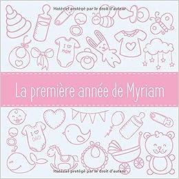 première année Myriam: