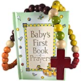 Baby Catholic Baptism Gift Set, Includes Baby's First...