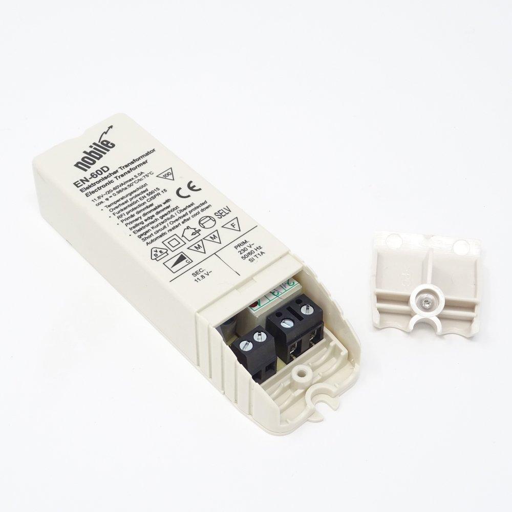 Elektronischer Transformator 20-60VA / 12V / 230V Einbau Trafo EN-60 ...