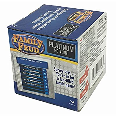 Family Feud - Platinum Edition - Boxed Card Game: Toys & Games