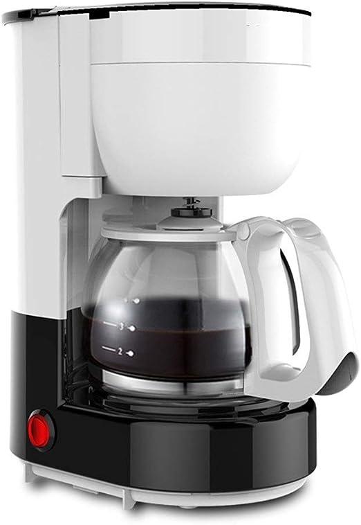 ODDINER Máquina de café Pequeño hogar de Cristal automática ...