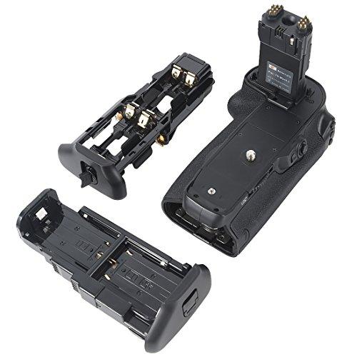 DSTE Pro BG-E16 Vertical Battery Grip For Canon 7D Mark II Digital Camera as LP-E6