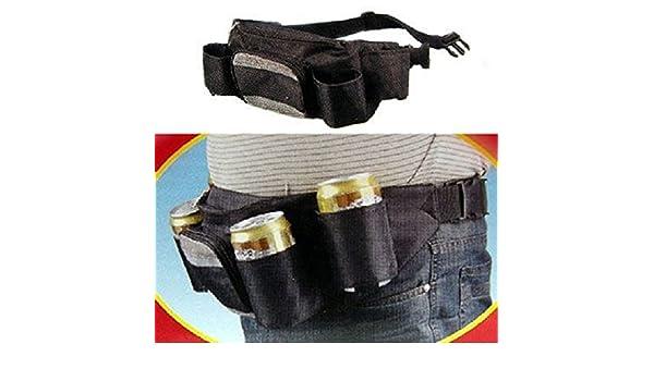 Import Cinturón porta portavasos con riñonera Idea regalo original: Amazon.es: Jardín