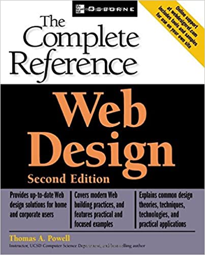 Web Design Complete Reference Subsequent Edition