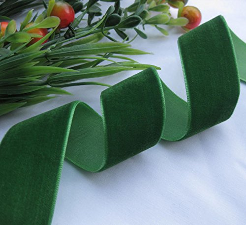 Green Velvet Ribbon - 3