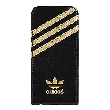 babbf804ef Adidas Flip Case for Apple iPhone 5 5S - Black Gold  Amazon.co.uk   Electronics