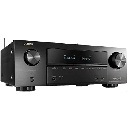 Denon AVR-X1500H Receiver - HDR10, 3D video support | 7 2 Channel (80W per  channel) 4K Ultra HD Video | Home Theater Dolby Surround Sound |