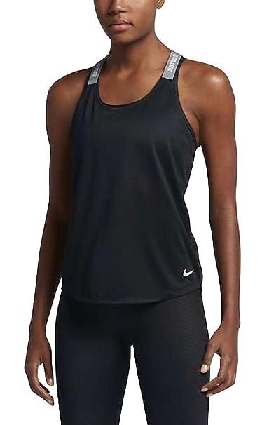 Nike Women's Dry Elastika Tank - X-Small - Black