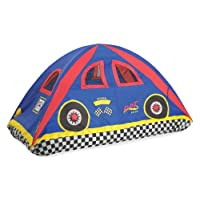 Pacific Play Tents 19710 Kids Rad Racer Bed Tent Playhouse - Tamaño doble