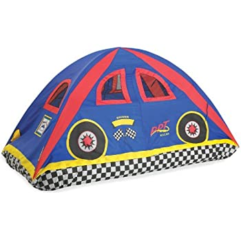 Pacific Play Tents 19710 Kids Rad Racer Bed Tent Playhouse Twin Size