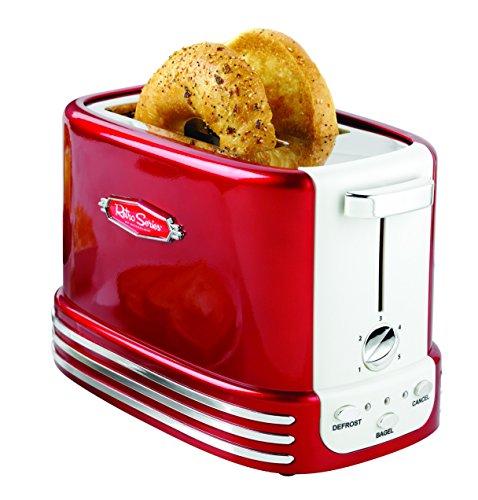 Nostalgia-RTOS200-Retro-Series-2-Slice-Bagel-Toaster