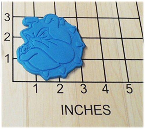 Bulldog Candy (Marine Corps Bulldog Shaped Fondant Cookie Cutter and Stamp #1155)