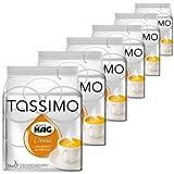 tassimo cafe - Tassimo Café HAG Crema Décaféiné, Lot de 6, 6 x 16 T-Discs