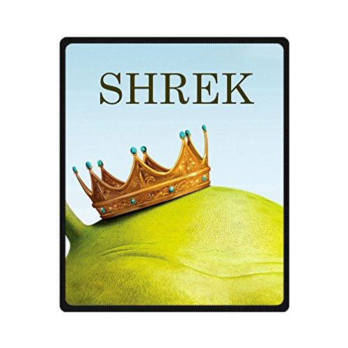 JIUDUIDODO Home Bedding & Beautiful Christmas Gifts Shrek Blanket 50 Inches x 60 Inches Sofa/Bed Used Gift for Family/Friend