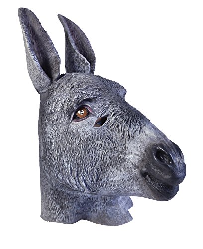 Bristol Novelty BM418 Donkey Overhead Mask (One