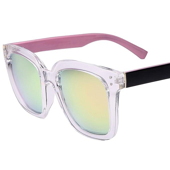 Caja transparente grande/Gafas de sol reflectantes/Gafas de sol polarizadas/ Gafas de