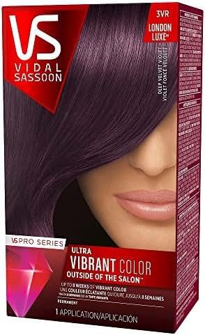 Vidal Sassoon Pro Series, 3VR Deel Velvet Violet, 1 Count
