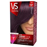 Vidal Sassoon Pro Series Ultra Vibrant Hair Color Kit, 3VR London Luxe/Deep Velvet Violet (1 Application)
