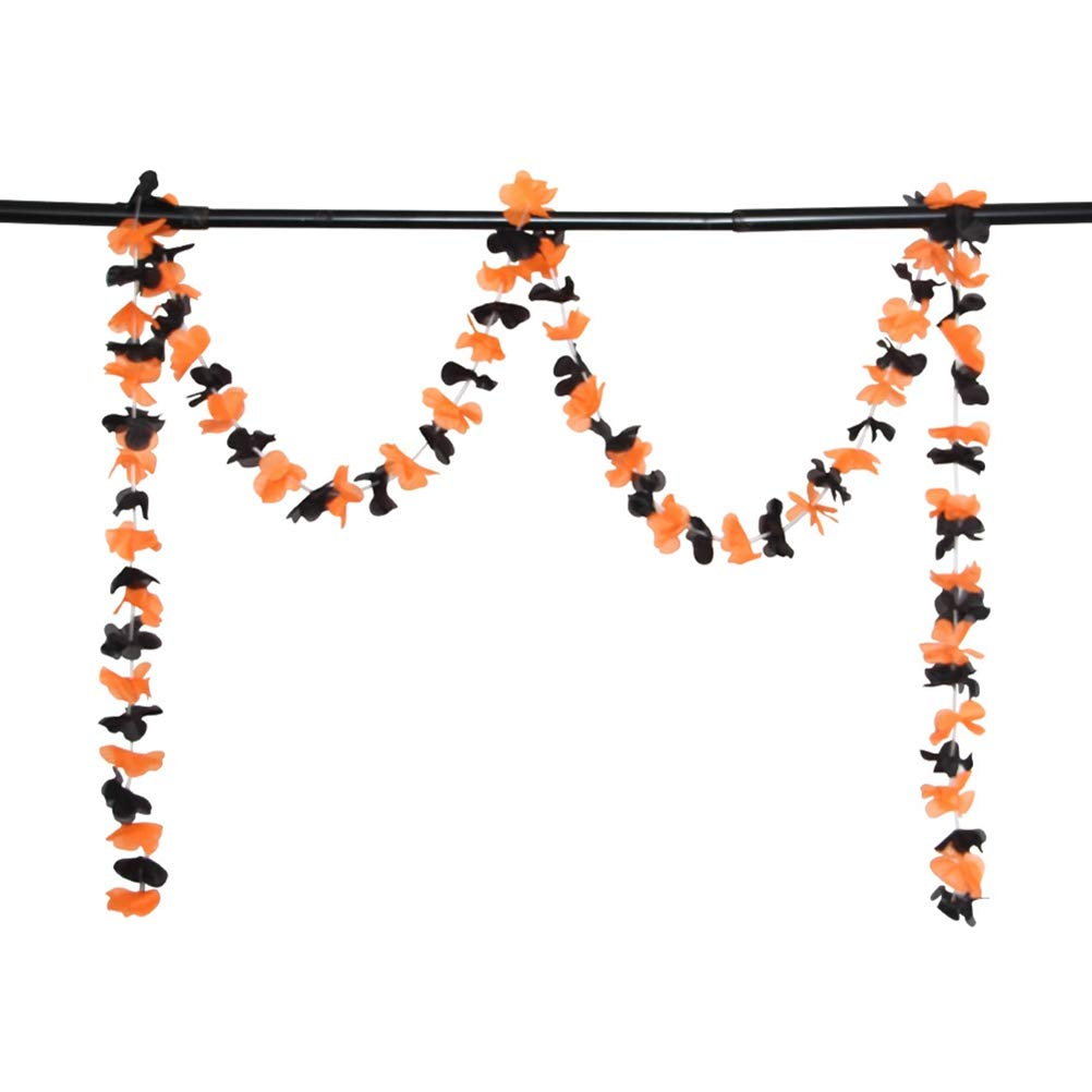 5 Pack Halloween Decoration Banner Colored Pumpkin Skull Spider Banners for Party Bar Hotel Ghost Festival Ornaments