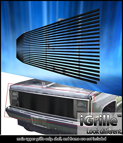 eGrille 81-87 Chevy GMC Suburban/Blazer/Jimmy Black Stainless Billet - Gmc 85 Jimmy 87 86