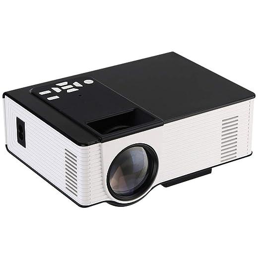 YSCCSY Proyector VS314 Mini proyector 1500 lúmenes 800 x 480 ...
