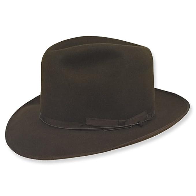 ba33b57f6a354 Amazon.com  Borsalino Alessandria Fur Felt Hat  Clothing