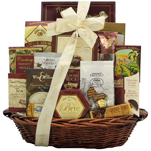 Our Sincere Condolences: Sympathy Gift Basket