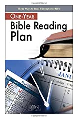 Features 3 Different Bible Reading Plans! Easily Fits Inside Most Bible Covers! Perfect for individual use or group use. According to a 2014 nation-wide survey conducted by the American Bible Society, 62% of Americans wish they read Scripture...